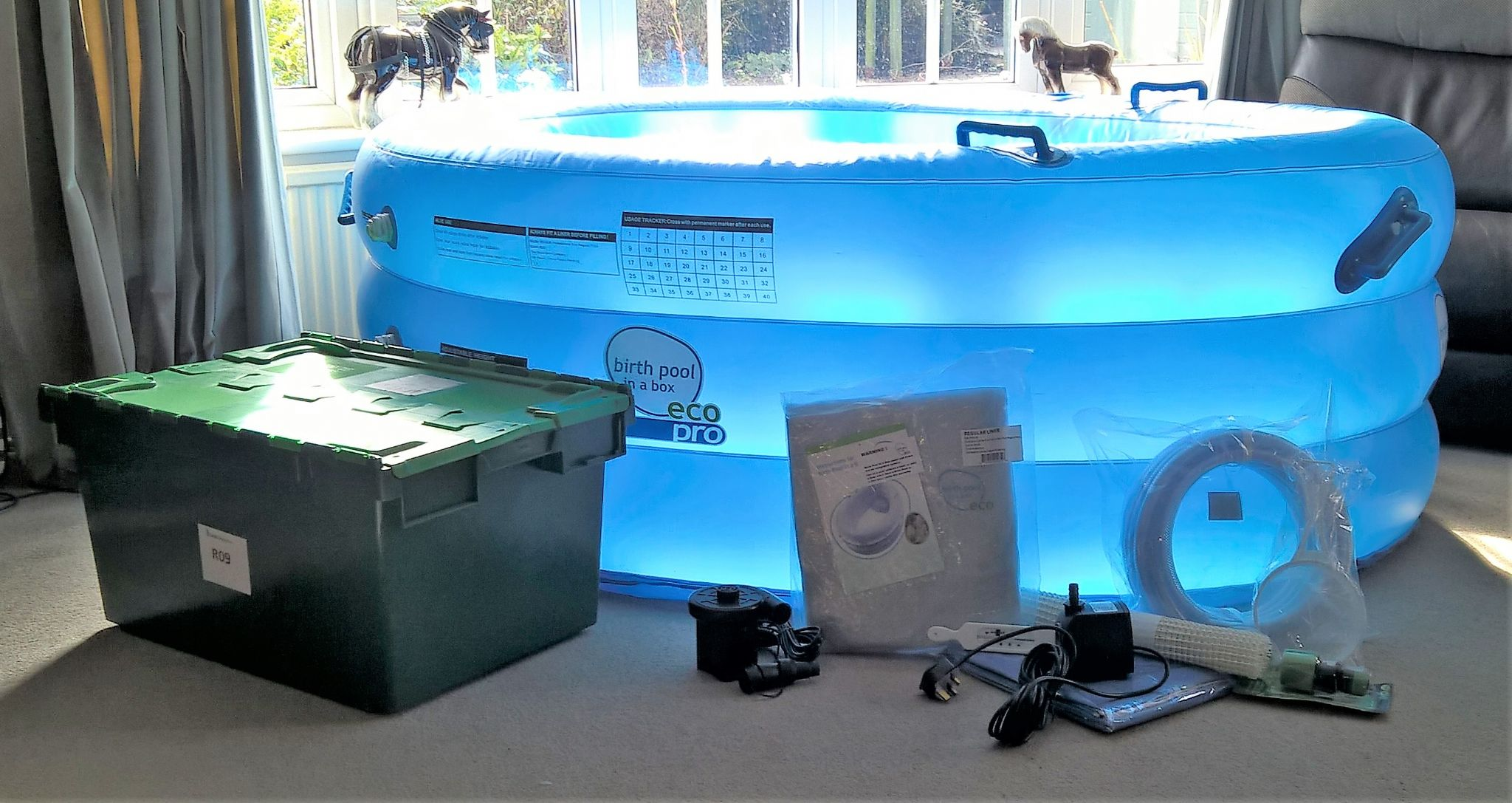Pro Regular Birth Pool In A Box Hire Package